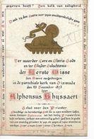 MA56/ 1e H MIS TE DIKSMUIDE 1873 E.H.ALPHONSUS GHYSSAERT - Religion & Esotericism