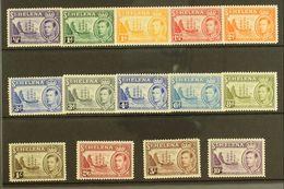 1938-44 KGVI Defins Complete Set, SG 131/40, Very Fine Mint (14). For More Images, Please Visit Http://www.sandafayre.co - Saint Helena Island