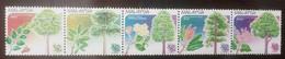 O) 2017 MALAYSIA, TREE - KAPUR - PULAI - TEMBUSU - PERAH - BUNGOR, FRUITS AND FLOWERS, SET MNH - Malaysia (1964-...)