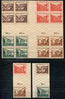 6764 - SBZ-Thüringen - Hz1 (4x4) + S Zd1 + S Zd2 - Alles Postfrisch - Mnh - Zone Soviétique