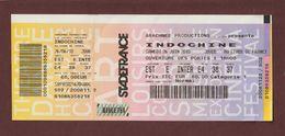 Ticket Original D'entrée Du Groupe De POP ROCK Français INDOCHINE Au STADE DE FRANCE Le 26/6/2010 - Face & Dos - Tickets D'entrée