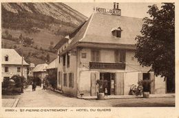 ST PIERRE D ENTREMONT  Hotel Du Guiers - Autres Communes