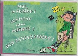 MOI EN RETARD COMMENT EST-CE POSSIBLE  ( Franquin ) - Fumetti