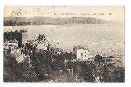 LA NAPOULE  (cpa 06)  Panorama Vers Cannes - Other Municipalities
