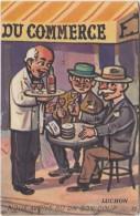 N22-  31) LUCHON - NOUS AVONS BU UN BON COUP  AU CAFÉ DU COMMERCE - CARTE A SYSTEME 10 PETITES VUES - 3 SCANS - Luchon