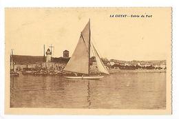 LA CIOTAT  (cpa 13)  Entrée Du Port - La Ciotat