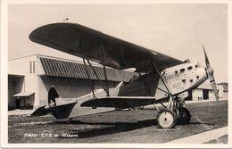 Dübendorf - Avion Fokker - Armée Suisse - 1919-1938: Entre Guerres