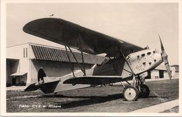 Dübendorf - Avion Fokker - Armée Suisse - 1919-1938: Between Wars