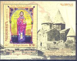 2017. Armenia, 1070y Of St. Grigor Narekatsi,  S/s, Mint/** - Armenia