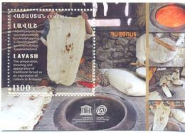2017. Armenia, UNESCO, Lavash, S/s, Mint/** - Armenia