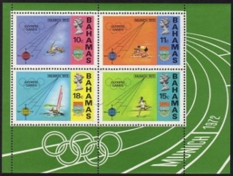Bahamas, 1972, Olympic Summer Games Munich, Sports, MNH, Michel Block 5 - Bahamas (1973-...)