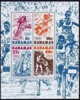 Bahamas, 1976, Olympic Summer Games Montreal, Sports, MNH, Michel Block 17 - Bahamas (1973-...)
