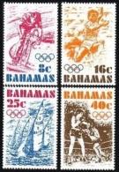 Bahamas, 1976, Olympic Summer Games Montreal, Sports, MNH, Michel 398-401 - Bahamas (1973-...)