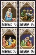 Bahamas, 1977, Christmas, Paintings, MNH, Michel 424-427A - Bahamas (1973-...)