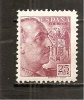 España/Spain-(MH/*) - Edifil  868 - Yvert  665 - 1931-50 Neufs