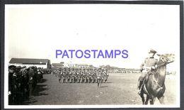 90958 PARAGUAY COSTUMES MILITARY SOLDIER PARADE PHOTO NO POSTAL POSTCARD - Fotografie