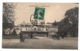 59 NORD - HAUBOURDIN Jardin Public Et Ses Jardiniers (voir Descriptif) - Haubourdin
