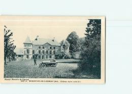 MONESTIER De CLERMONT -  Château - Animée -  TBE -  2 Scans - Ohne Zuordnung