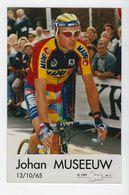 CYCLISME . Carte Postale De Johan MUSEEUW  En Champion De Belgique - Radsport