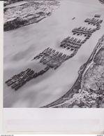 UNITED STATES MOTH BALL FREIGHTER FLEET NEW YORK HUDSON RIVER    25 * 19  CM Bateau, Barco,  Bateaux, Navire - Barcos