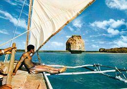 1 AK New Caledonia - Nouvelle Caledonie - Neukaledonien * Upi Bay - Islands Of Pins * IRIS Karte Nummer 115 - Neukaledonien