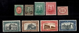 Italie Petite Collection D'anciens Neufs * 1889/1926. Bonnes Valeurs. B/TB. A Saisir! - Italien