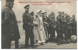 ARMEE BELGE  - REEKS PhotB - LA REINE - War 1914-18