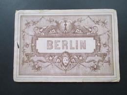 Berlin Leporello Um 1900 Mit Einigen Ansichten! Druck Und Verlag Jacobi & Zobel, Dresden - Ansichtskarten