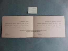 Denderleeuw - Nieuwpoort - 1935 - Heylens - De Bolle - Dedrie - Scheirsen - Mariage