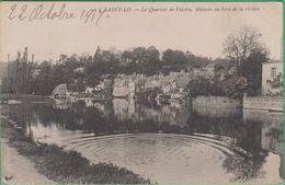 50 - Saint Lô - Le Quartier De Valoire, Maisons Au Bord De La Rivière - Editeur: ND Phot N°50 - Saint Lo