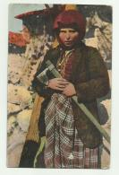 COSTUMI ALBANESI - RETRO VERIFICA PER CENSURA POSTA MILITARE 1917 - VIAGGIATA FP - Albania