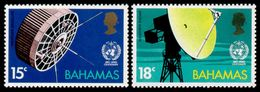 Bahamas, 1973, WMO Centenary, World Meteorological Organization, United Nations, MNH, Michel 354-355 - Bahamas (1973-...)