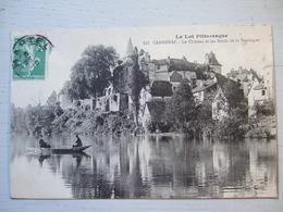 LE LOT PITTORESQUE / CARENNAC L LE CHATEAU ET LES BORDS DE LA DORDOGNE / BELLE CARTE ANIMEE /1916 - Other Municipalities