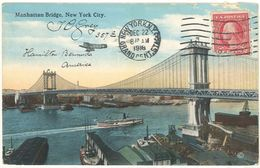 Manhattan Bridge - NEW YORK City  - Pont Suspendu   103480) - Manhattan