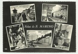 SALUTI DA S.MARINO - VEDUTE - VIAGGIATA FG - San Marino