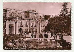 CATANIA - GIARDINI BELLINI   - VIAGGIATA FG - Catania