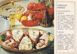 ZARAUELA DE MARISCOS. SINDICATO NAC DEL OLIVO. CIRCULEE ESPAÑA TO ARGENTINE. BANDELETTA PARLANTE CIRCULEE-TBE-BLEUP - Recepten (kook)