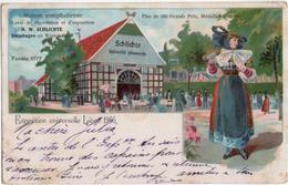 Exposition Universelle Liege 1905 - Maison Westphalienne H. W. Schlichte - & Litho - Liege