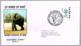 50 Años WWF - 50th Anniversary WWF. ELEFANTE - ELEPHANT. Godalming 2011 - W.W.F.