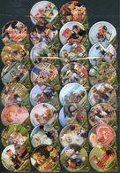30 KRD Schweiz - Teddys - 1398 A - Gastro - Milk Tops (Milk Lids)