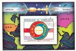 REPUBLIQUE DE HAUTE-VOLTA COOPERATION SPATIALE U.S.A.-U.R.S.S. 1973 - Alto Volta (1958-1984)