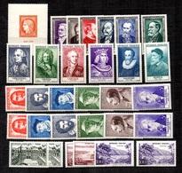 France Belle Petite Collection Neufs ** MNH 1949/1959. Bonnes Valeurs. TB. A Saisir! - France