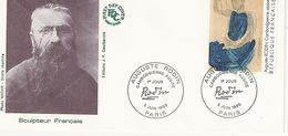 France - Enveloppe 1er Jour - Auguste Rodin - Sculpteur Français - 9 Juin 1990 Paris - T. 2636 - 1990-1999