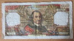 France - Billet 100 Francs Type Corneille 2-12-1965 Série D.119 - Fayette 65.10 - 1962-1997 ''Francs''