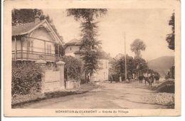 L40C072 - Monestier De Clermont - Entrée Du Village - Cliché Dusserre N°4 - Vaches Au Milieu De La Route - Otros Municipios