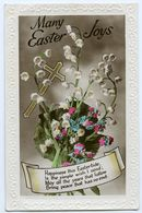 MANY EASTER JOYS (EMBOSSED) - Easter