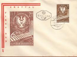 Enveloppe 1er JOUR - Österreichische Tabak Regie - Gegründet 1784 - Ersttag 08.05.1959 - FDC