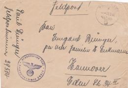 Feldpost WW2: OT-Brücken-Bauleitung Kundt FP 29514 And Cachet Organisation Todt And Feldpost Number P/m 3.2.1942 - Fragm - WW2