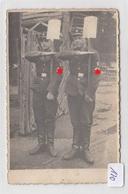170, Privat Fotokarte Arbeitsdienst Präsentiert Den Spaten Tolle Aufnahme ! - War 1939-45