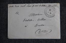 Lettre De TRESOR Et POSTES Vers BRASSAC - Guerre De 1914-18
